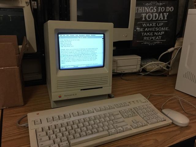 The Macintosh SE/30